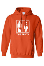 Men's/Unisex Pullover Hoodie The Truth About Men & - Dubbs Alpha League