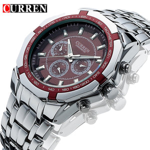 Luxury Military Quartz Watch - Dubbs Alpha League