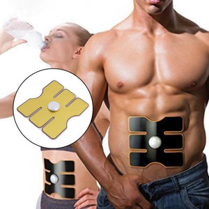 15 levels Electrical Muscle Simulation Body Fit Health ABS Six Pad EMS Training Gear  Fitness Equipment #S0
