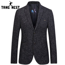 TANGNEST 2018 New Arrival Autumn Casual Slim Single Breasted Men Blazer Business Blazer Masculino Plus Asian Size 4XL MWX376 - Dubbs Alpha League
