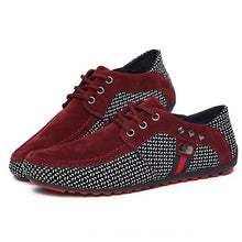 Luxury Men Flats Moccasins Shoes - Dubbs Alpha League