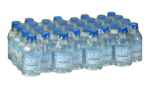Purh20 Natural Spring Water 8fl oz/32 bottles