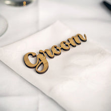 Custom Place Setting Names
