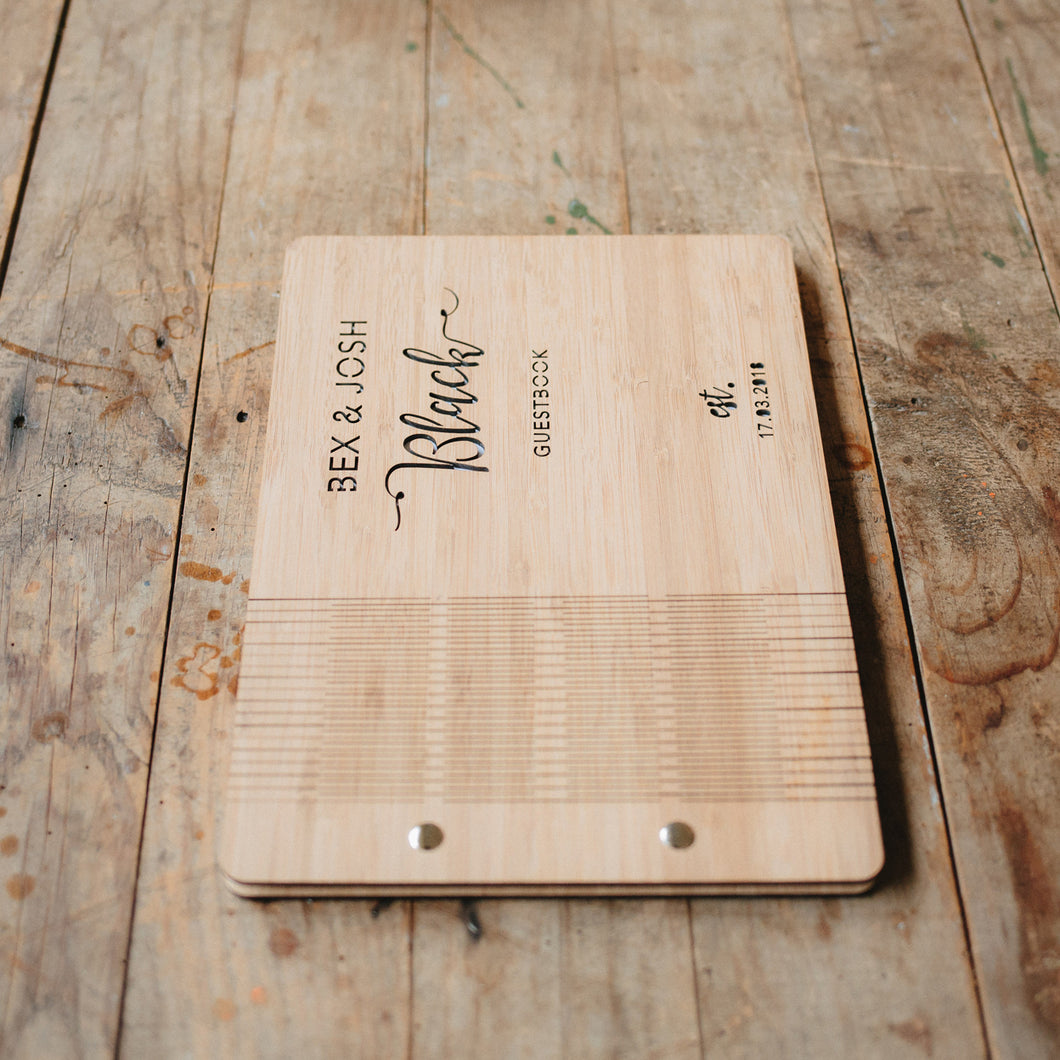 Personalised Guestbook - Style 1