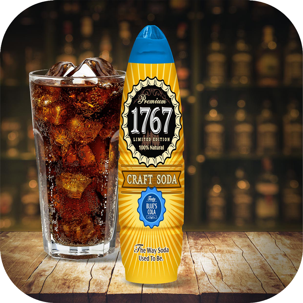 1767 Blue's Craft Cola