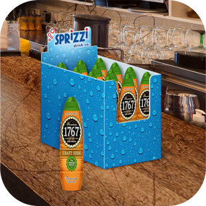 1767 Mountain Rain Lite Craft Soda