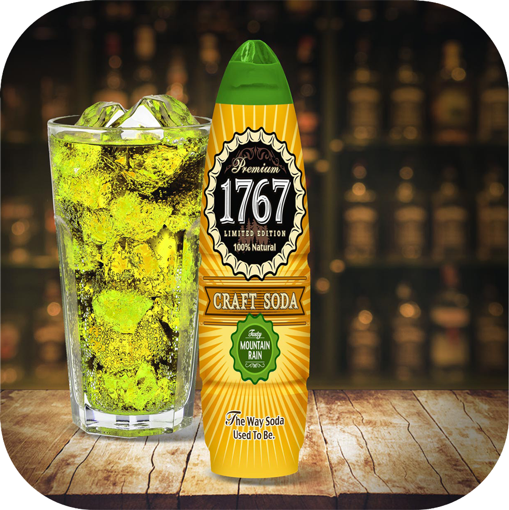 1767 Mountain Rain Craft Soda