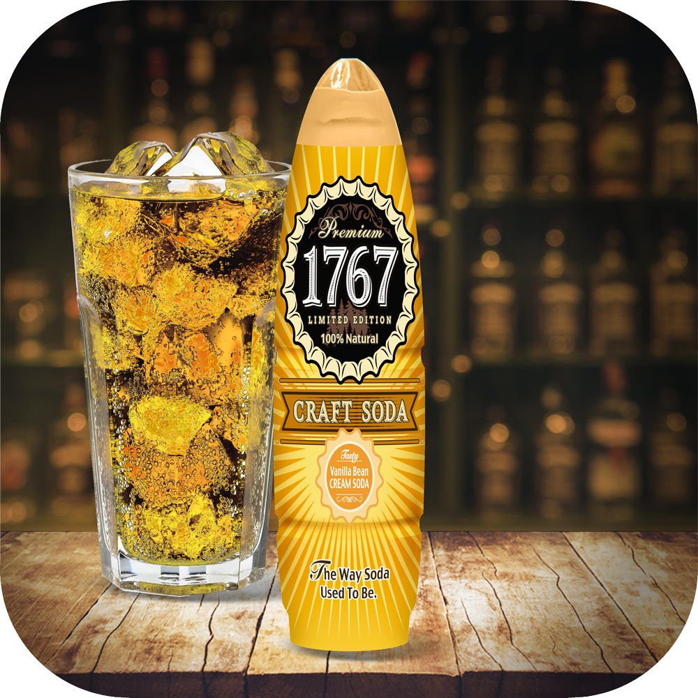 1767 Vanilla Bean Craft Soda