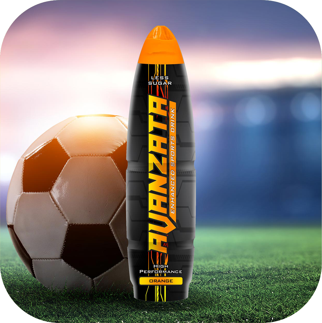 Avanzata Orange Sports Drink