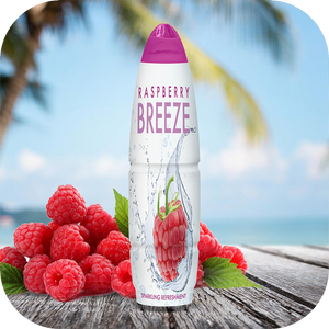 Breeze Raspberry Flavored Water