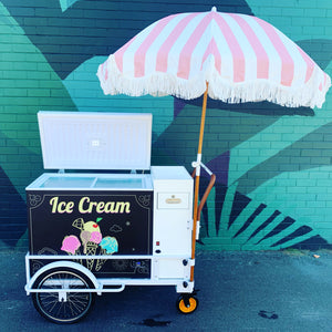 Ice Cream Drinks Cart
