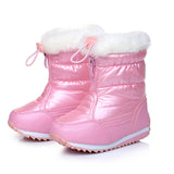 Candy Girl - Toddler Girls Snow Boots Waterproof Plush Lining