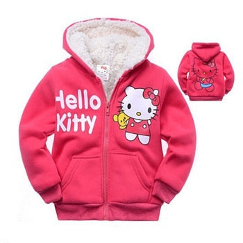 Hello Kitty Hooded Jacket for Toddler Girl