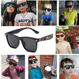 2018 Camouflage Sunglasses - Toddler Military Glasses Girls Boys Mirror Coating Eyewear