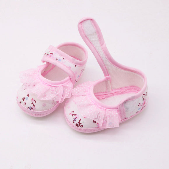 Baby Print - Girls First Walkers Soft Shoes