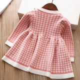 Plaid - New Plaid Baby Toddler Dress for Girls