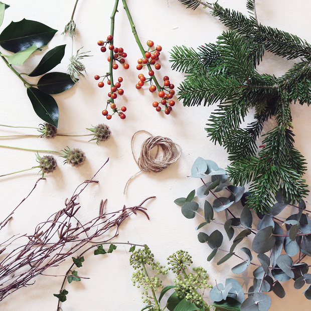 Botanical Wreath - Build Your Own Scented Wreath