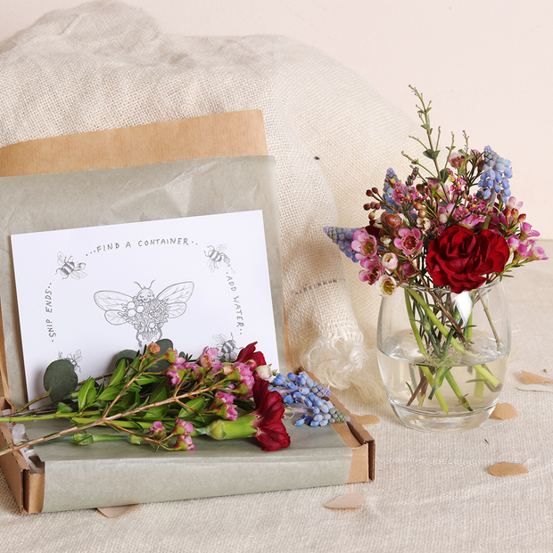 Mother's Day Gift Wrapped Botanical Box