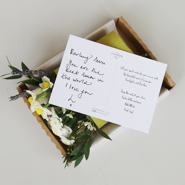 Original Botanical Letterbox Posy (3-Month Gift Subscription)