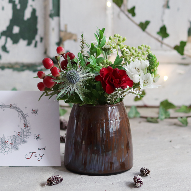Festive Letterbox Flowers with Chocolate