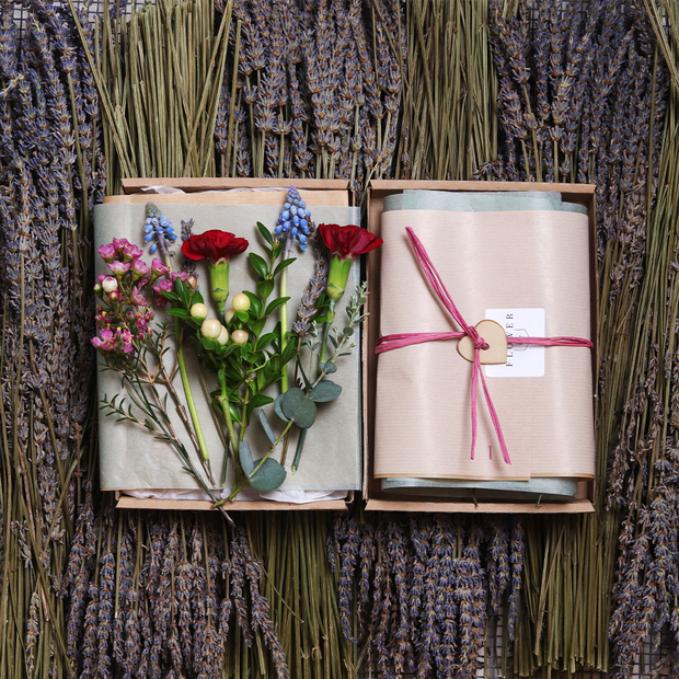 Original Botanical Letterbox Posy (6-Month Gift Subscription)