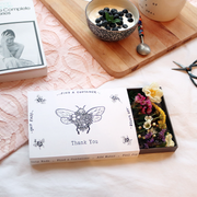 'Thank You' Illustrated Sleeved Botanical Posy