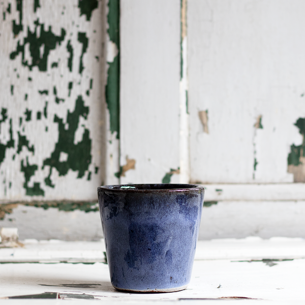 Glazed Ceramic Plant Pot