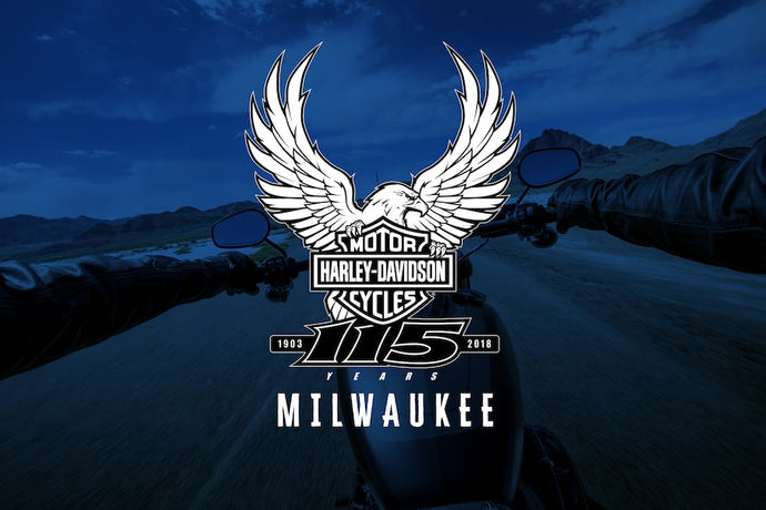Icicles at the 115th Harley-Davidson Anniversary Celebration: Aug 29 - Sept 2nd,  2018