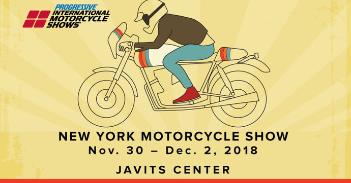 Icicles at New York Progressive International Motorcycle Show - Nov. 30 – Dec. 2