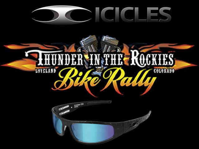 Icicles at Thunder in the Rockies Bike Rally - Aug 30 - Sept 2nd, 2019