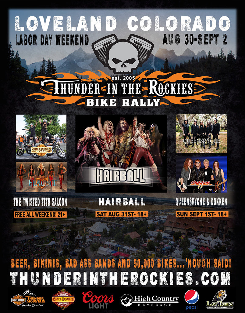 Join Icicles USA at Thunder in the Rockies - Aug 30-Sept , 2019 at Thunder Mountain Harley-Davidson
