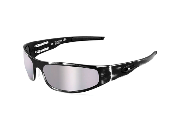 Baby Bagger (DISTRESSED) - Rider Polarized - Silver Mirror