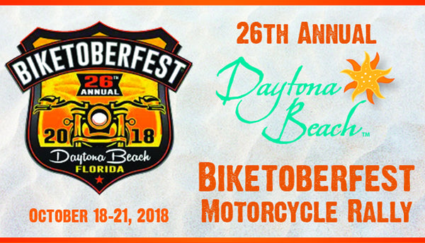 The 26th Annual Daytona Beach Biketoberfest 2018 Oct. 18-21