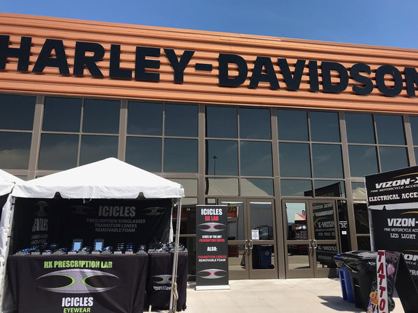 Icicles Eyewear at Black Hills Harley Davidson