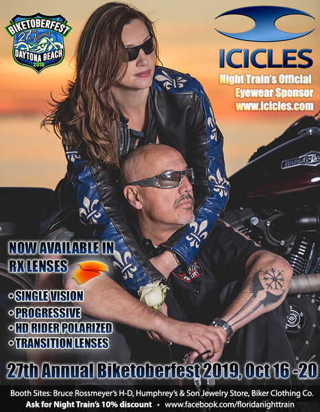 Icicles USA at the 27th Annual Daytona Beach Biketoberfest 2019 Oct. 16-20 in Daytona Beach, Florida