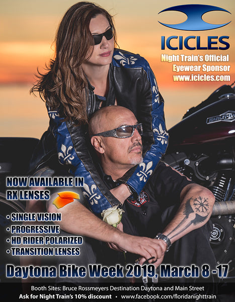 Icicles at Daytona Bike Week 2019, March 8-17