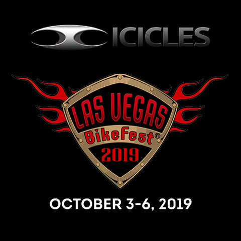 Icicles at Vegas BikeFest 2019 - Oct 3-6