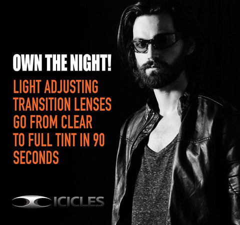 Icicles NEW Mirror Transitional day/night lenses
