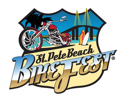 Icicles at St. Pete Bikefest 2019 in St. Pete Beach, Florida Nov. 20-24