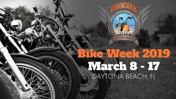 Join Icicles USA at the 28th Anniversary of Daytona Bike Week on March 8-17 2019
