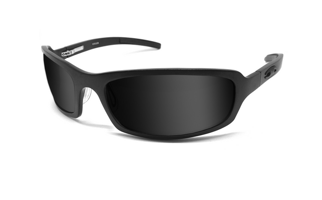 X Frame - Matte Black/Smoke - ICICLES - The original aluminum sunglass company - 1