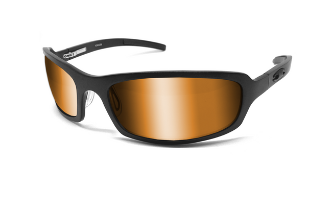 X Frame - Matte Black/Fire - ICICLES - The original aluminum sunglass company - 1