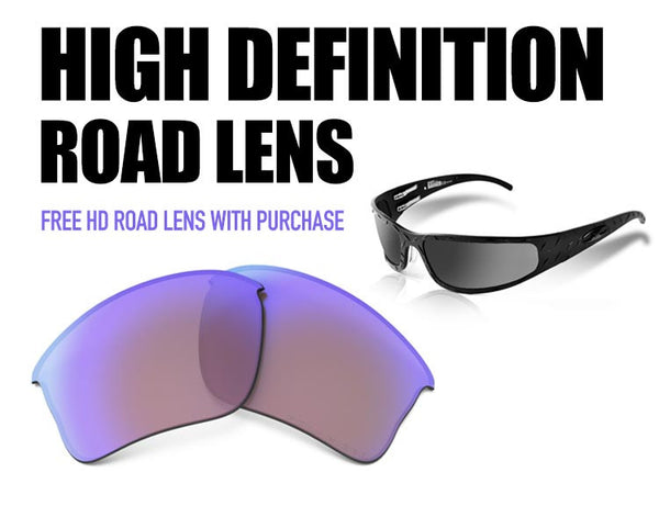 Bagger (Flat) - Matte Black HD Road Lens