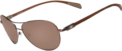 Carbon Fiber Aviator Copper Brown