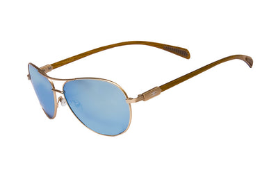 Carbon Fiber Aviator - Gold