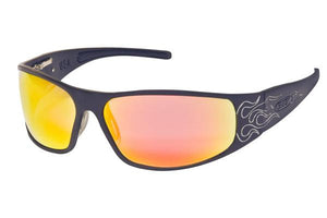 Raven - Black Flames - ICICLES - The original aluminum sunglass company - 3