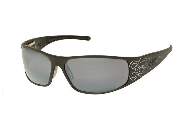 Raven - Black Flames - ICICLES - The original aluminum sunglass company - 1