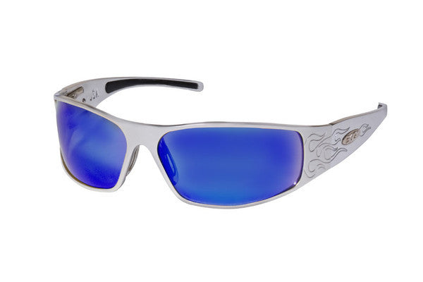 Raven - Silver Flames - ICICLES - The original aluminum sunglass company - 2