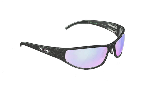 Bagger Diamond - Gun Metal HD Road Lens - ICICLES - The original aluminum sunglass company - 1