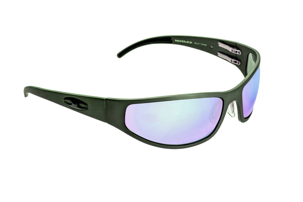 Bagger (Flat) - Matte Black HD Road Lens - ICICLES - The original aluminum sunglass company - 1